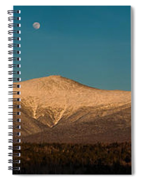 The Presidential Range White Mountains New Hampshire Spiral Notebook