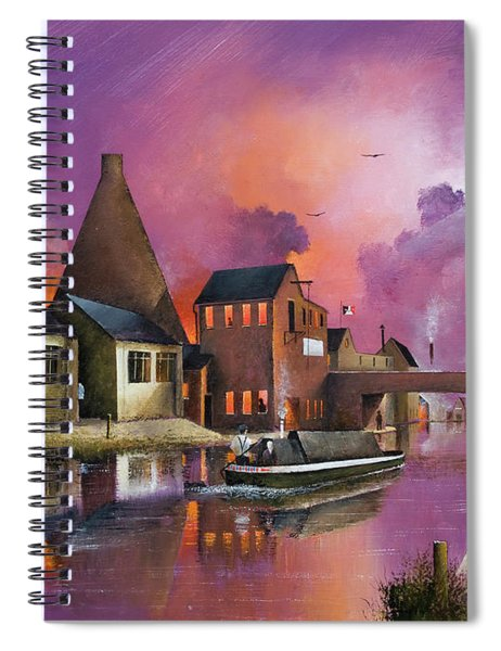 The Red House Cone - Wordsley Spiral Notebook