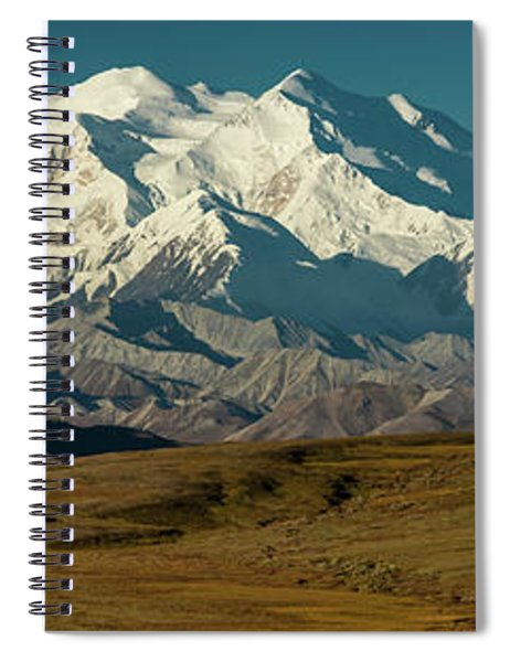 The Road Up To Polychome Pass, Denali Spiral Notebook