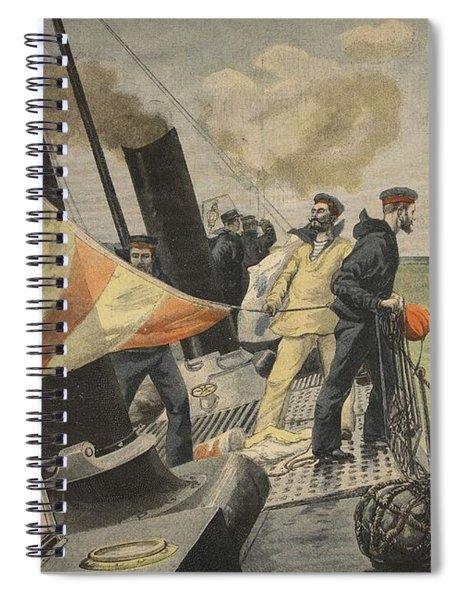 The Spanish American War, Illustration Spiral Notebook