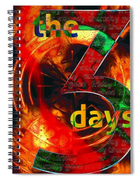 The Three Days Spiral Notebook