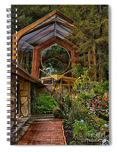 The Wayfarers Chapel Spiral Notebook