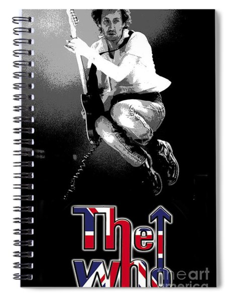 The Who Spiral Notebook