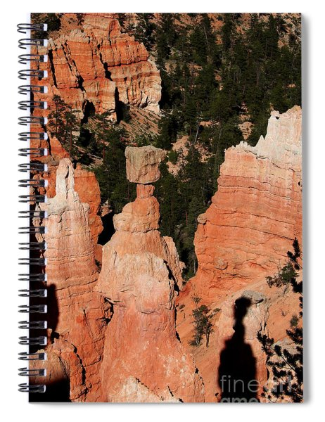 Thors Shadow Spiral Notebook