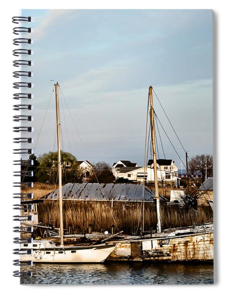 Tilghman Island Maryland Spiral Notebook