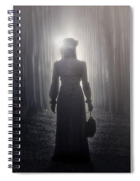 Towards The Light Spiral Notebook