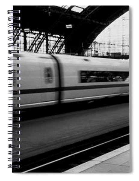 Train Station, Cologne, Germany Spiral Notebook