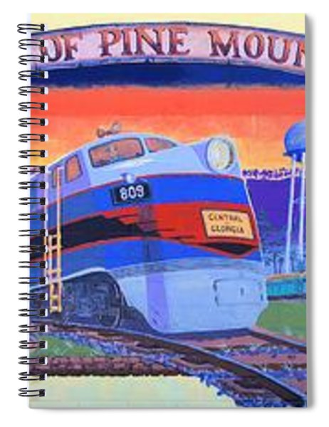 Trains Of Pine Mountain Spiral Notebook