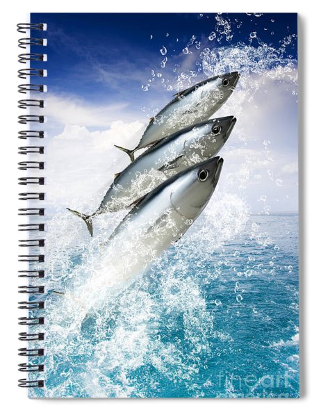 Tropical Sea Escape Spiral Notebook