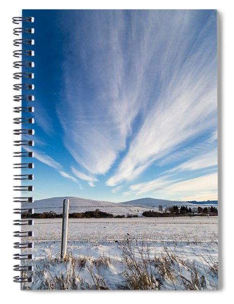 Under Wyoming Skies Spiral Notebook