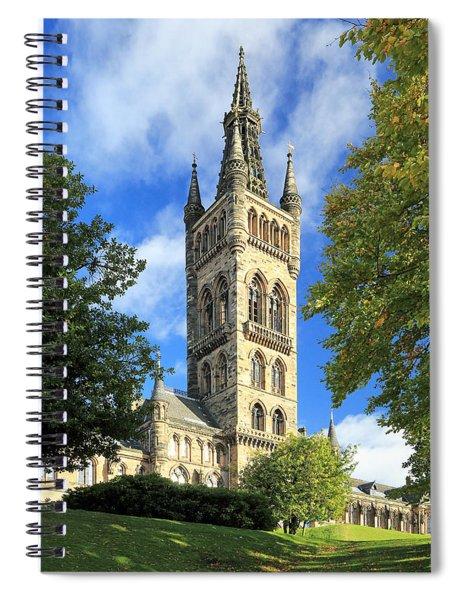 University Of Glasgow Spiral Notebook