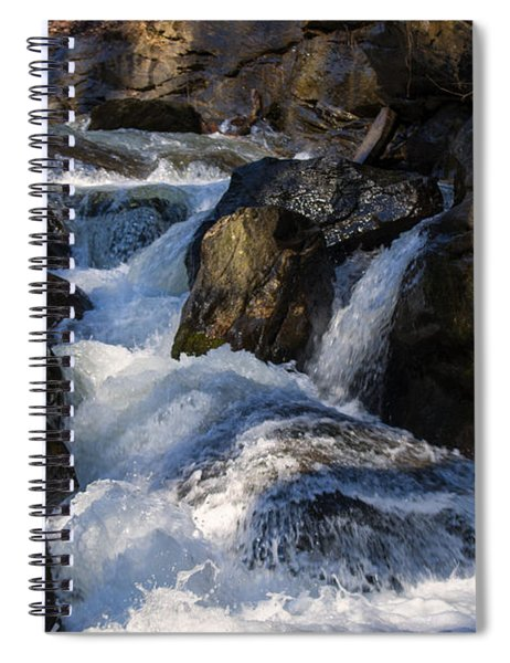 unnamed NC waterfall Spiral Notebook