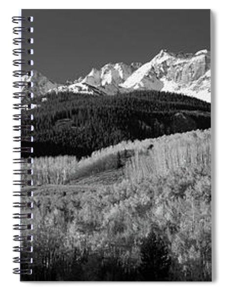 Usa, Colorado, Rocky Mountains, Aspens Spiral Notebook