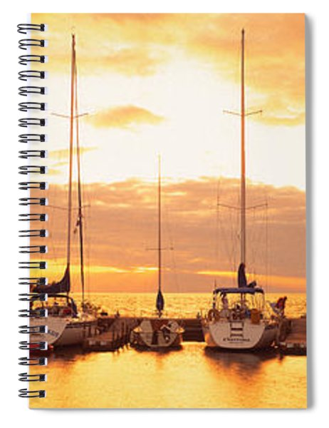 Usa, Wisconsin, Door County, Egg Spiral Notebook
