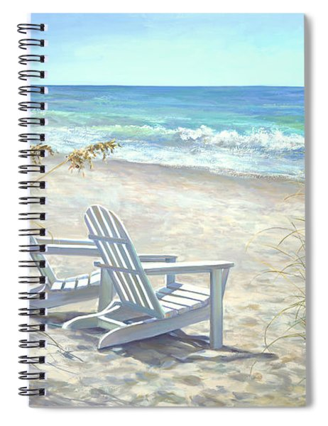 View For Two. Spiral Notebook