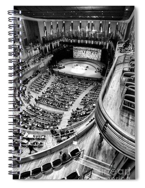 View From The Upper Balcony At Strathmore Music Center Spiral Notebook