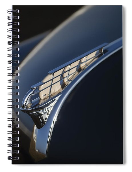 Vintage Plymouth Hood Ornament Spiral Notebook