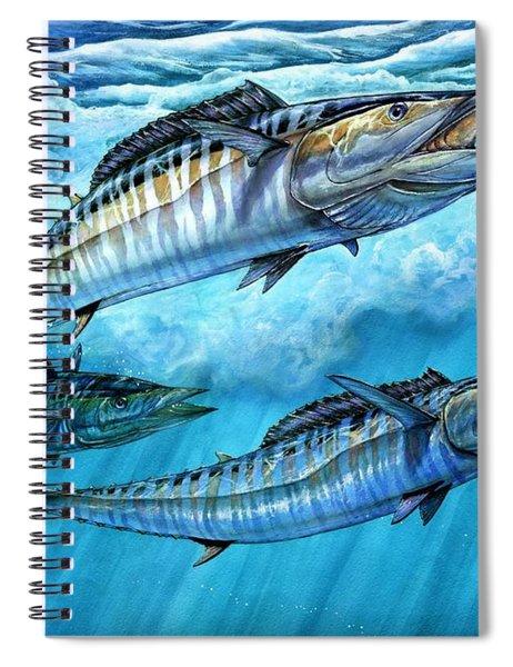 Wahoo In Freedom Spiral Notebook