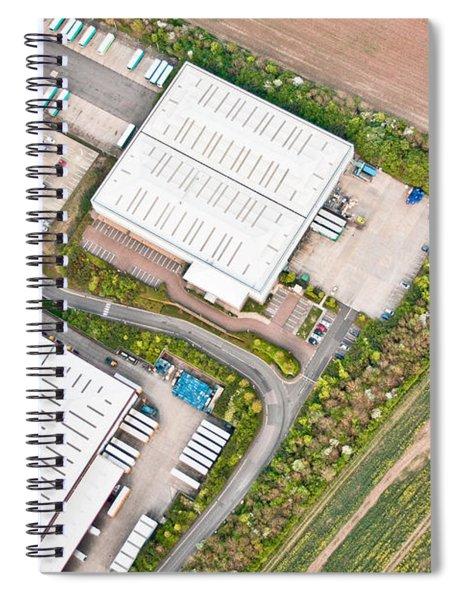 Warehouses Spiral Notebook