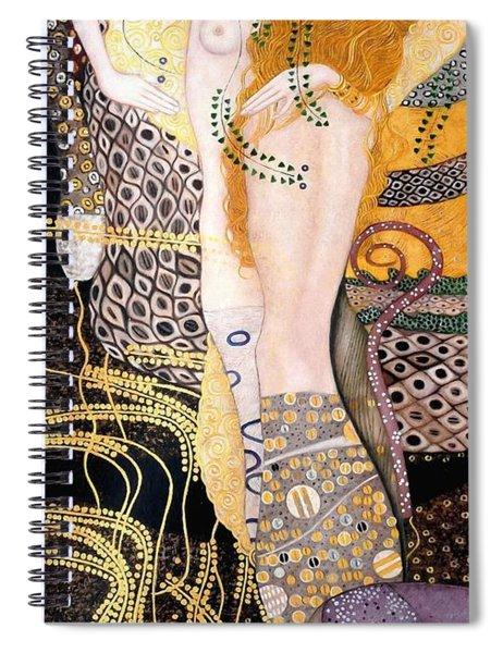 Water Serpents I Spiral Notebook