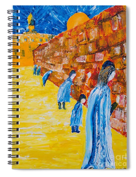 Western Wall Spiral Notebook