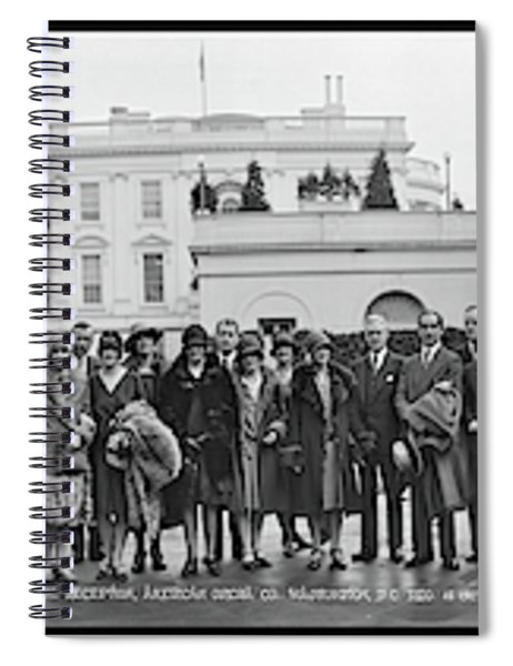 White House Reception, American Opera Spiral Notebook