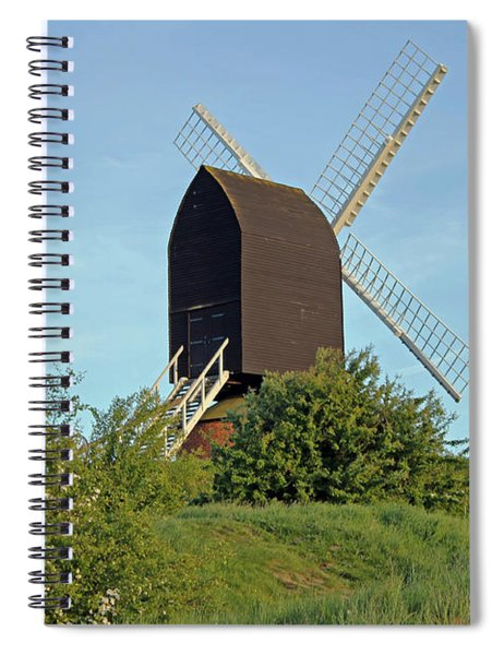 Windmill On Brill Common Spiral Notebook