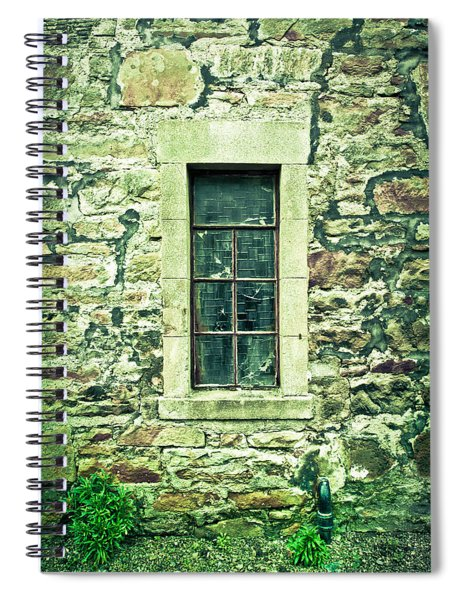 Window Spiral Notebook