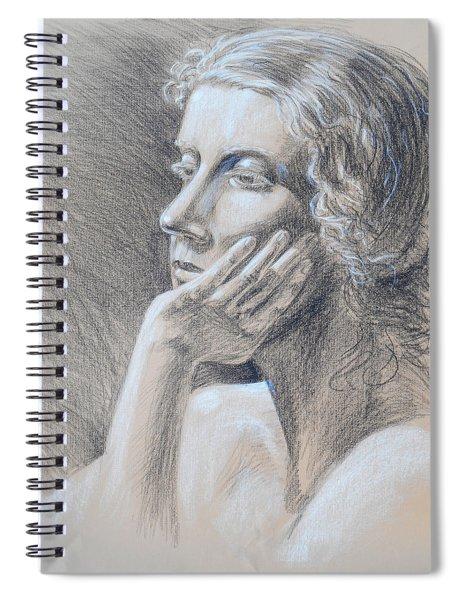 Woman Head Study Spiral Notebook
