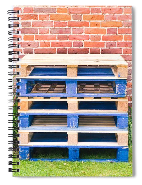 Wooden Pallets Spiral Notebook