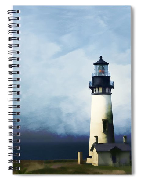 Yaquina Head Light Spiral Notebook