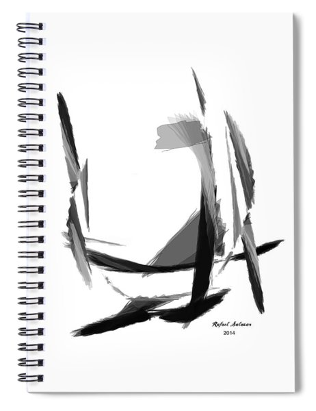 Abstract Series II Spiral Notebook