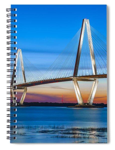 Charleston Arthur Ravenel Bridge Spiral Notebook