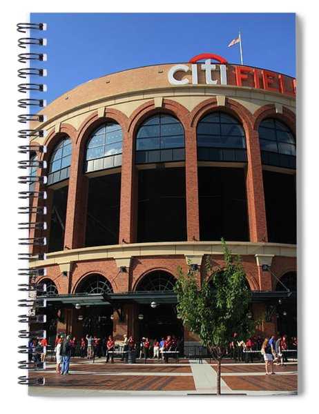 Citi Field - New York Mets 3 Spiral Notebook