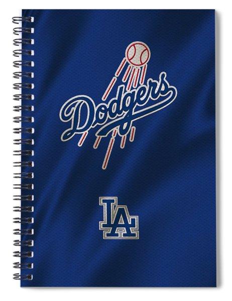 Los Angeles Dodgers Uniform Spiral Notebook