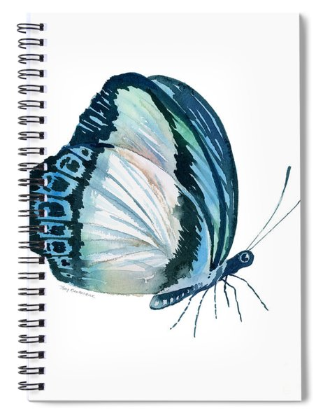 101 Perched Danis Danis Butterfly Spiral Notebook by Amy Kirkpatrick