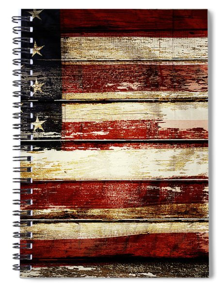 American Flag 33 Spiral Notebook