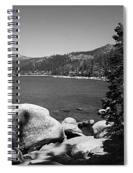 Lake Tahoe Spiral Notebook