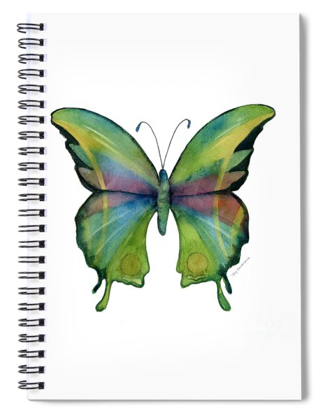11 Prism Butterfly Spiral Notebook