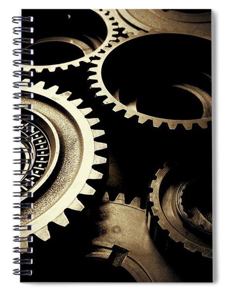 Cogs No1 Spiral Notebook