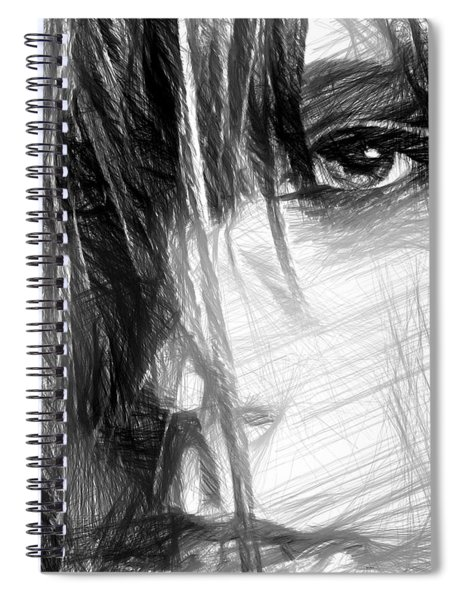 Facial Expressions Spiral Notebook
