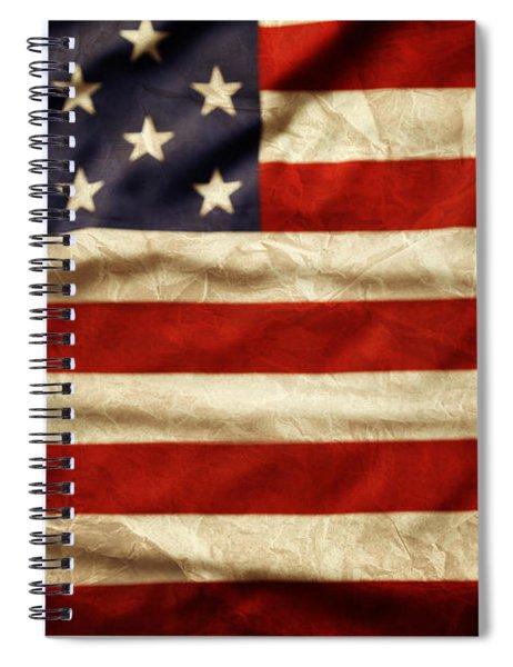 American Flag 59 Spiral Notebook