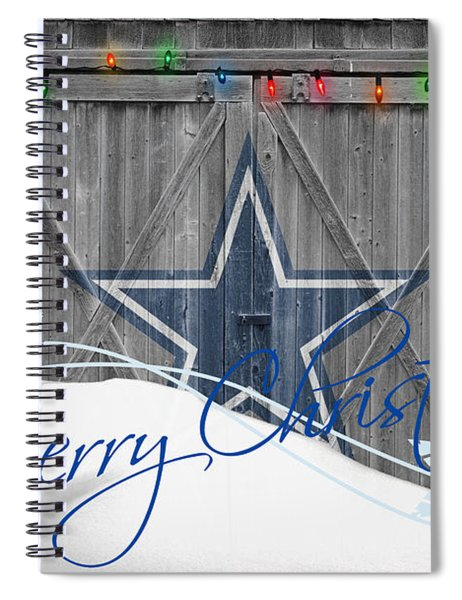 Dallas Cowboys Spiral Notebook by Joe Hamilton
