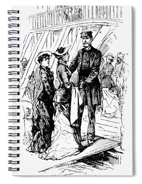 Twain Mississippi, 1883 Spiral Notebook