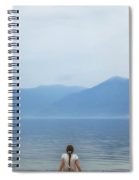 Waiting Spiral Notebook