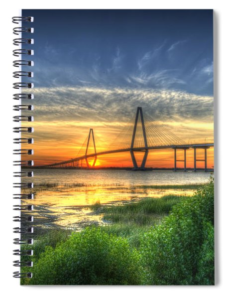 Lowcountry Sunset Spiral Notebook