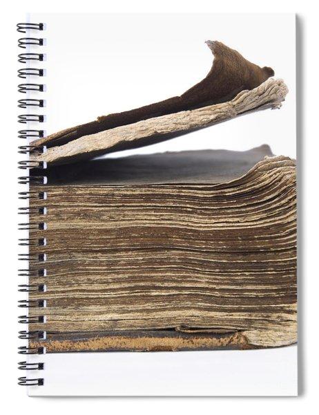 Old Book Spiral Notebook