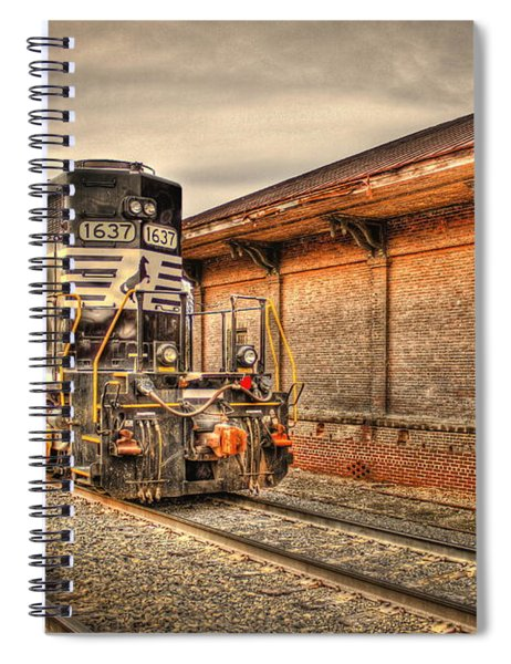 Locomotive 1637 Norfork Southern Spiral Notebook