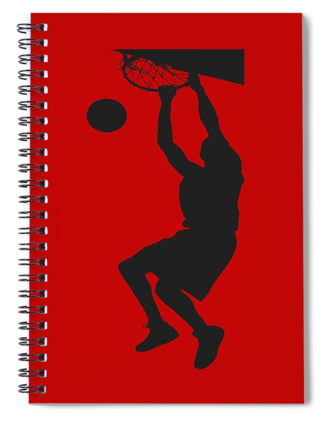 Nba Shadow Player Spiral Notebook