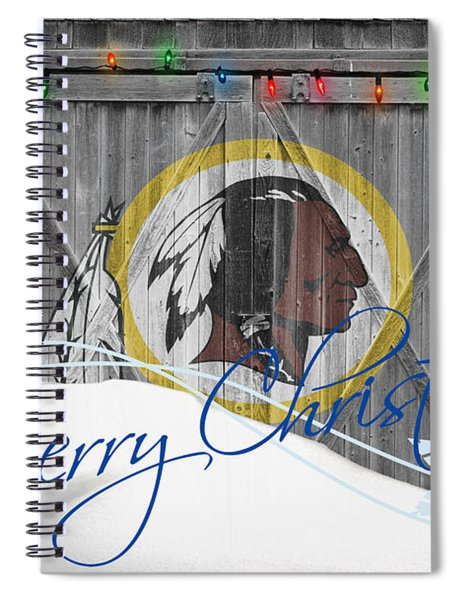Washington Redskins Spiral Notebook by Joe Hamilton